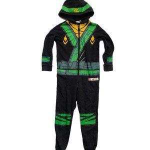 H&M Ninjago Black Sweatshirt Overall